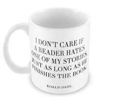 buy coffee mugs tea sets hates quote roald dahl writers mug
