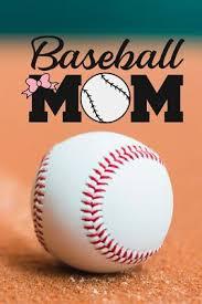 baseball mom baseball notebook 120