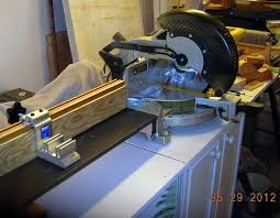 Custom Fence Extension For Miter Saw By Floridaart Lumberjocks Com Woodworking Community
