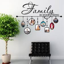 Shop Style Apply Family Picture Frame Vinyl Wall Decal On Sale Overstock 12026470