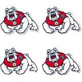 Amazon Com Fresno State Bulldogs Transfer Decal Alumni Sports Outdoors