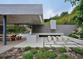 concrete garden pavilion by metropolis