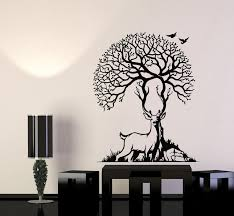 Vinyl Wall Decal Deer Animal Forest Beauty Nature Artiodactyls Hunting Wallstickers4you