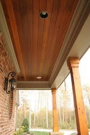 cedar porch ceiling