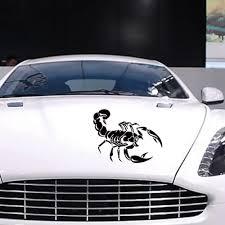 Vova Cool Fahsion 3d Scorpion Car Scratch Stickers Vinyl Decal Sticker Car Decoration