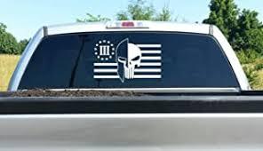 Rustic 3 Percenter Usa Flag Sticker Decal Car Truck 3 Percent Pro 2nd Nra 3 Gun