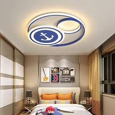 2020 Modern Led Ceiling Light For Chilren Room Kids Room Bedroom Study Room Blue Color Ceiling Lamp Home Decoration 90 260v From Wyiyi 94 53 Dhgate Com