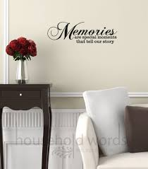 Vinyl Wall Decal Words Memories Are Special By Householdwords Vinyl Wall Words Family Wall Decals Vinyl Wall Decals