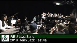 2019 REU Jazz Band at Reno Jazz Festival