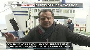 Messina, Cateno De Luca contro l'esodo dal nord: