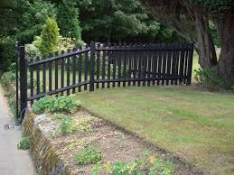 Black Picket Fence Backyard Landscaping Small Backyard Landscaping Backyard Landscaping Designs