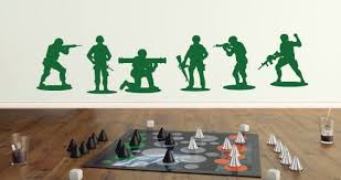 Toy Soldiers Wall Decal Pack Dezign With A Z