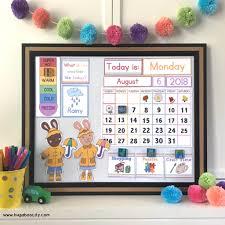 Diy Children S Calendar Updates Crafting Cheerfully