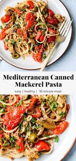 Canned Mackerel Pasta Recipe ...