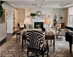 20 Zebra Print Accent Chair That Will Liven Up Your Living Room Home Design Lover
