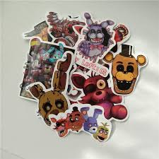 Five Nights At Freddy S Stickers For Suitcase Car Window Laptop Cell Phone Toy Styling Vinyl Decal Home Decor Sticker Wish