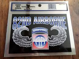 U S Military Army 82nd Airborne Jump Wings Window Decal Bumper Sticker Ebay