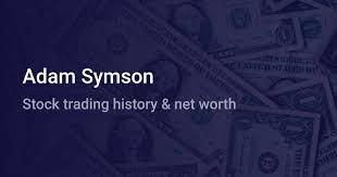 Adam Symson Net Worth (2020) | wallmine