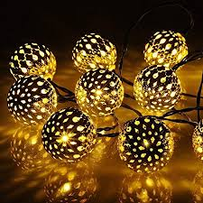 yancosmos globe string lights 20 ft 40