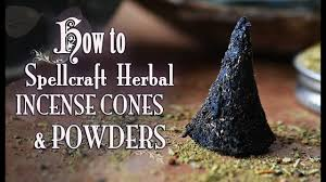 How To Make & Spellcraft Herbal Incense Cones & Powders. DIY. ~The ...