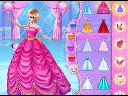 ice princess fun colors play dress up