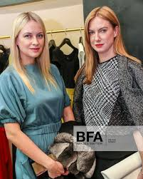 Lana Smith, Polina Proshkina at PAULE KA Store Opening with the Young  Fellows of the Frick