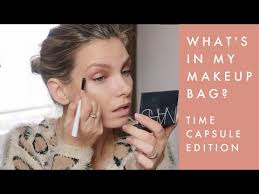 makeup bag the time capsule