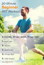 hiit workouts for beginners