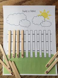 Build A Fence Math Activity Sharpening The Hearts And Minds Of Children