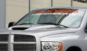 Product Dodge Motorsports Ram 3500 1500 2500 Srt Windshield Decal