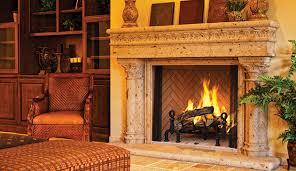 wood burning fireplaces georgetown