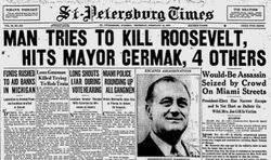 Image result for President Franklin Delano Roosevelt assasination