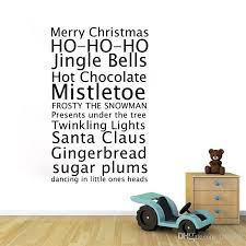 Aw9445 Merry Christmas Vinyl Wall Stickers Vinyl Xmas Jingle Bells Quote Removeable Decal For Baby Kids Shop Window Decals Stickers For Walls Decals Wall From Fst1688 12 97 Dhgate Com