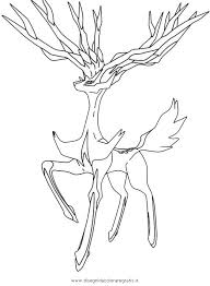 Pokemon Xerneas Coloring Pages With Images Pokemon Coloring