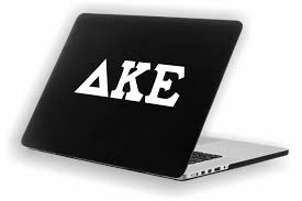 Delta Kappa Epsilon Decal For Car Laptop Or Anywhere Vinyl Decal I Greek Apparel And Hobbies
