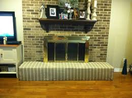 baby proofing the fireplace with