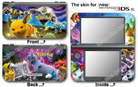 Pokemon Popular Skin Sticker Cover Vinyl Decal For New Nintendo 3ds Xl 2015 Ebay