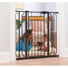 Regalo Extra Tall Walk Thru Safety Gate Home Indoor Fence Security For Baby Pet Door