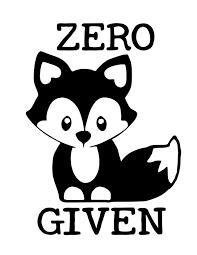 Zero Fox Given Decal Zero Fox Given Sticker Fox Sticker Etsy In 2020 Fox Decal Cricut Projects Vinyl Cricut Vinyl