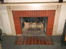 fix mortar gaps in a fireplace fire box