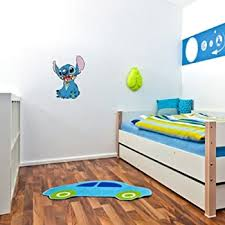 Amazon Com Lilo Stitch Stitch Wall Graphic Decal Sticker 25 X 18 Home Kitchen