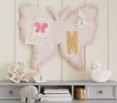 Butterfly Shaped Kids Bulletin Board Pottery Barn Kids