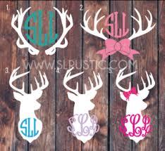 Decals Tagged Deer Monogram Slrustic