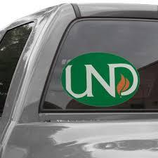 North Dakota Car Decals University Of North Dakota Bumper Stickers Decals Fanatics