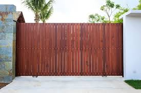best types of wood for wooden gates
