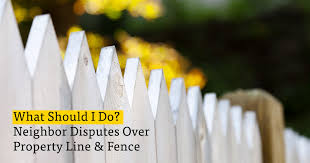 What To Do About Neighbor Disputes Over Property Line Fence