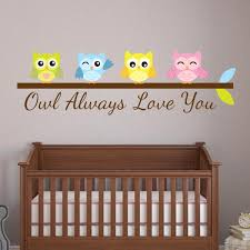 Owl Always Love You Wall Decal Wall Decal World