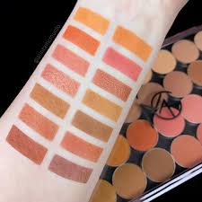 makeup geek warm eyeshadows review