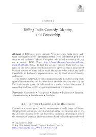 pdf riffing india comedy ideny