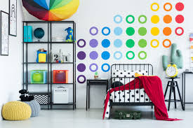 How To Put Up Wall Decal Stickers Tree Roommates Attach Design Vinyl Polka Dot Vamosrayos